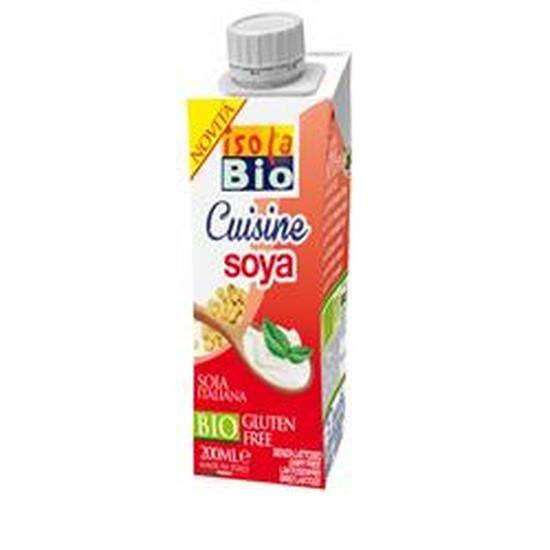 Isola Bio Crème soja bio pour la cuisine 200ml