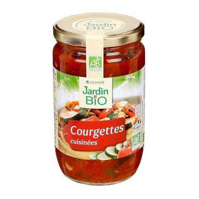 JARDIN BIO Courgettes cuisinées bio – 50 g