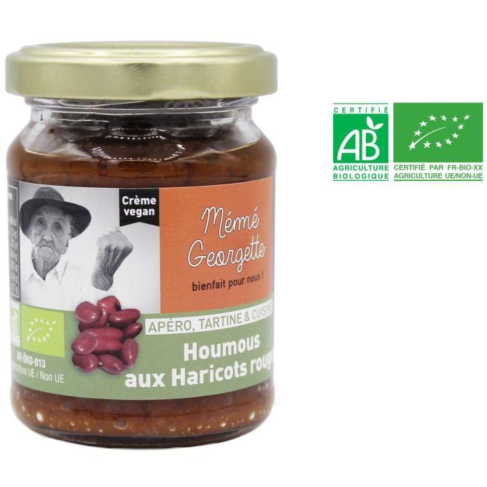 MEME GEORGETTE Houmous aux haricots rouges bio – 150 g